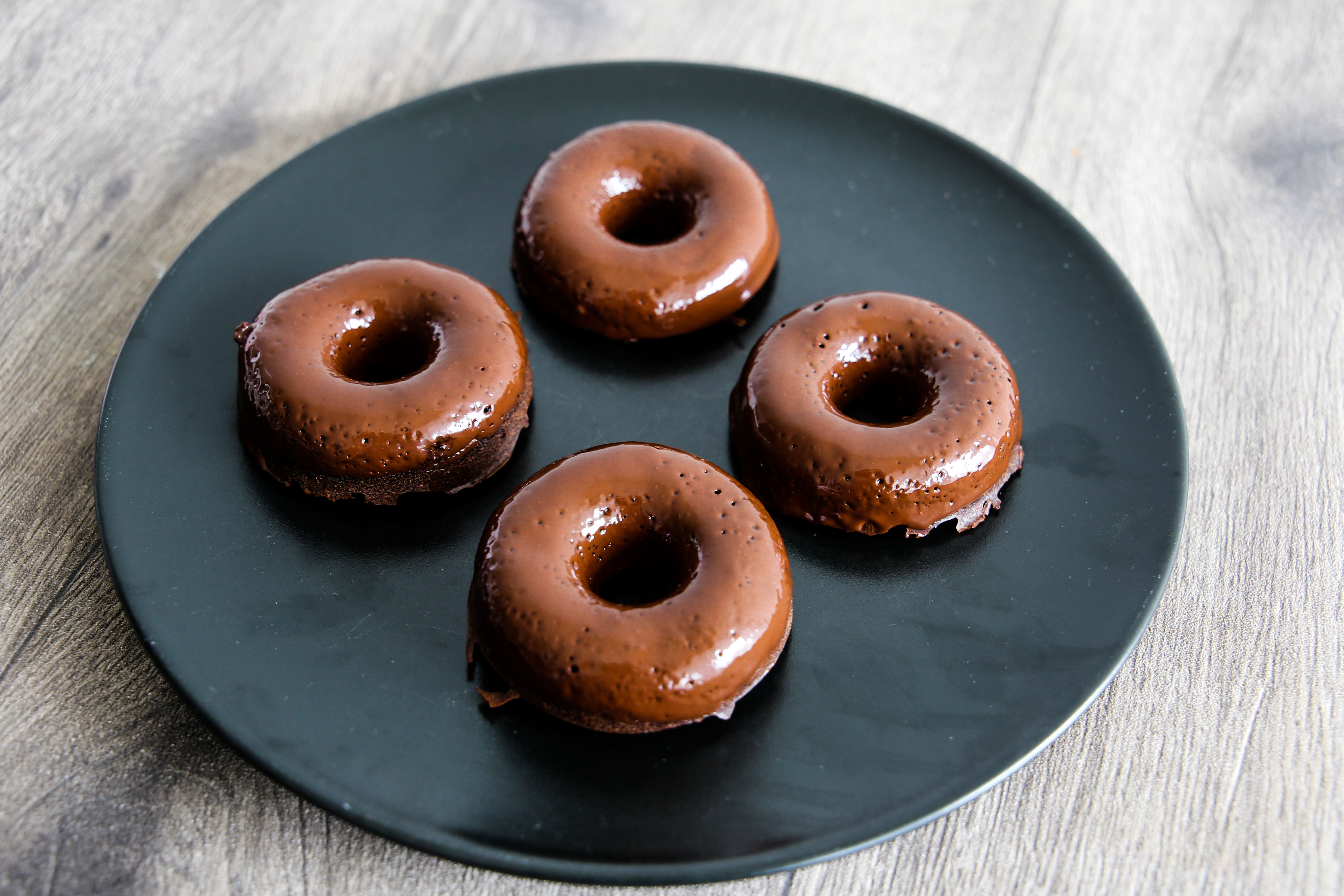 Vegane Schoko Donuts Rezept