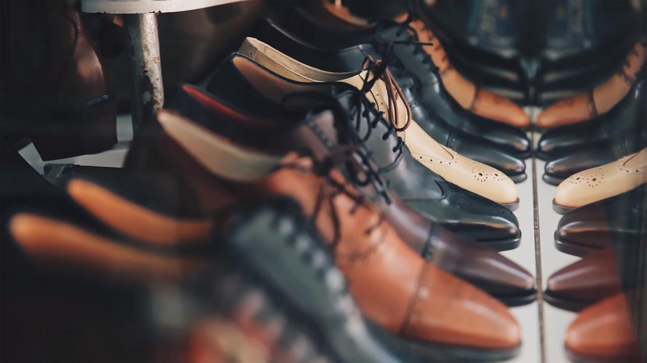 flur gestalten Wohnung interior Schuhe
