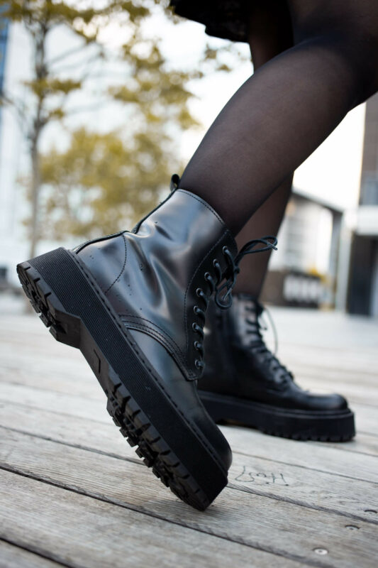 chunky boots outfit streetstyle trendreport